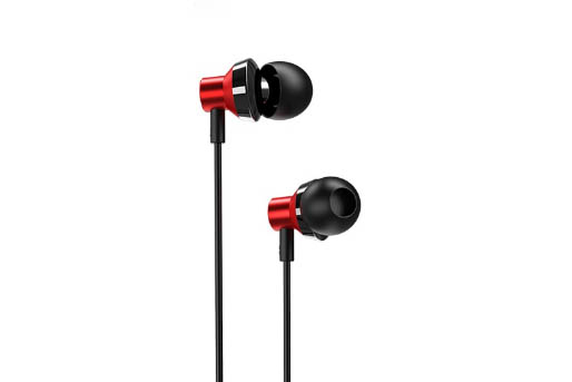 Гарнитура BOROFONE BM35 Farsighted universal earphones 3.5мм (черный)