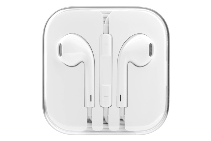 Гарнитура для Apple iPhone 5 5S EarPods (белый)